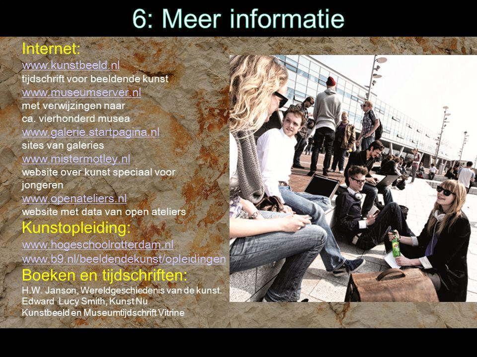 6: Meer informatie