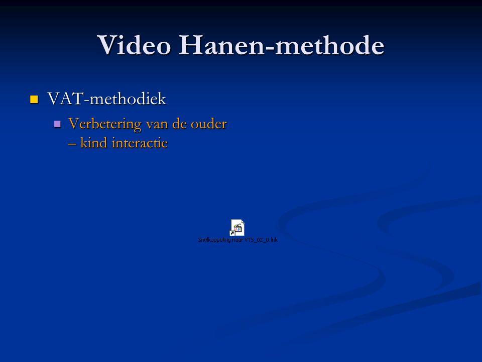 Video Hanen-methode VAT-methodiek
