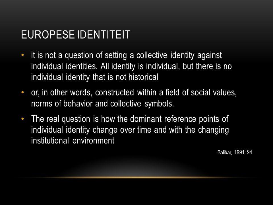 Europese identiteit