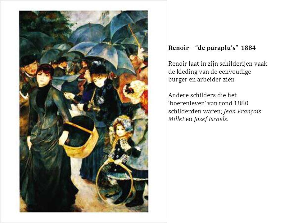 Renoir – de paraplu's 1884