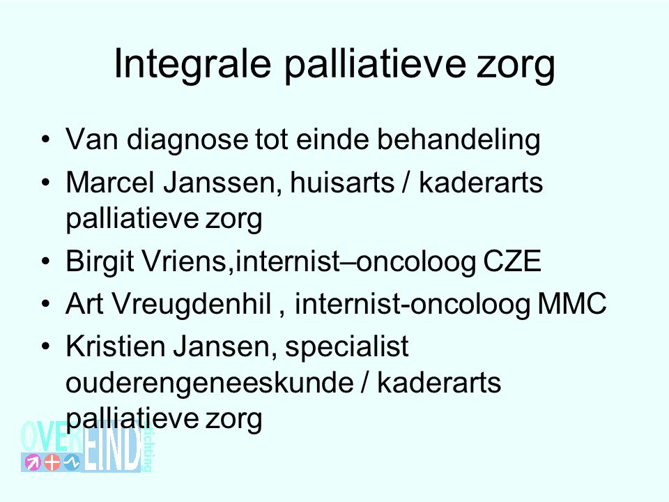 Integrale palliatieve zorg