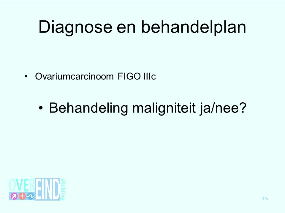 Diagnose en behandelplan