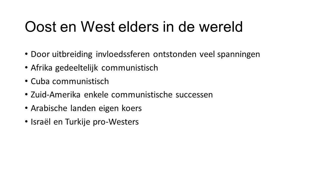 Oost en West elders in de wereld