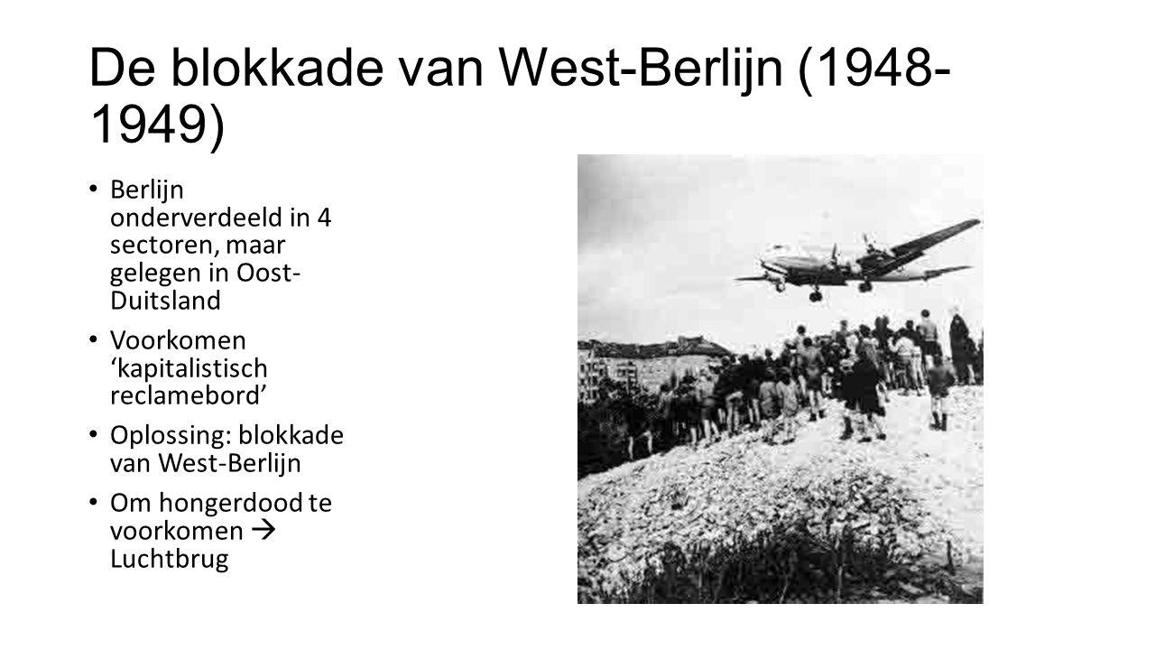 De blokkade van West-Berlijn (1948-1949)