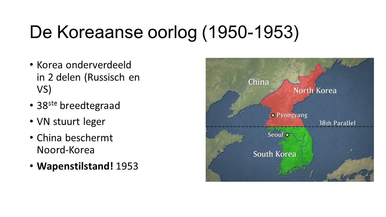 De Koreaanse oorlog (1950-1953)