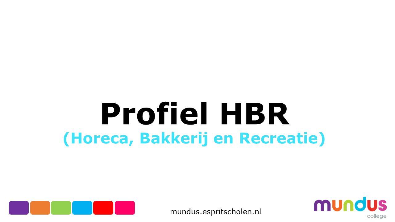 Profiel HBR (Horeca, Bakkerij en Recreatie)
