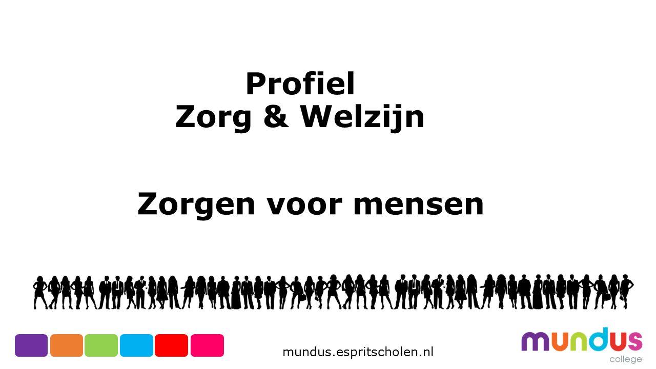 Profiel Zorg & Welzijn Zorgen voor mensen