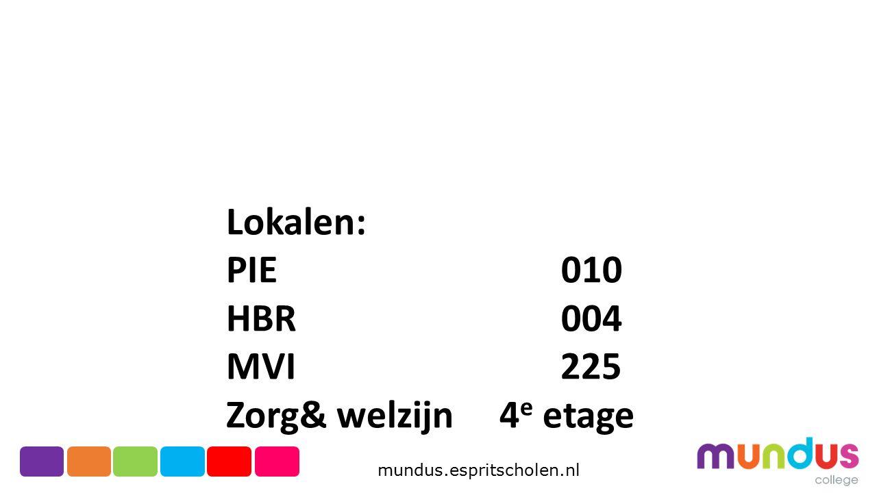 Lokalen: PIE 010. HBR 004. MVI 225.