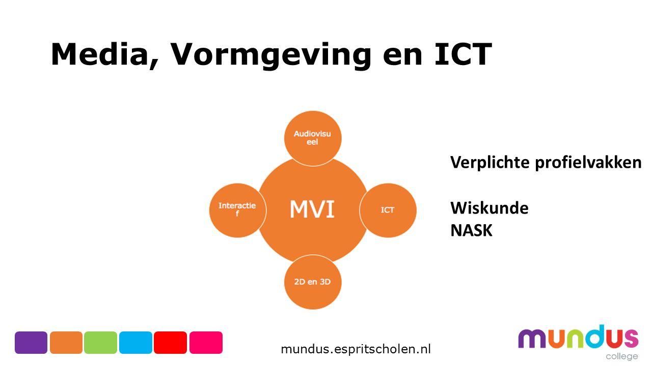 Media, Vormgeving en ICT