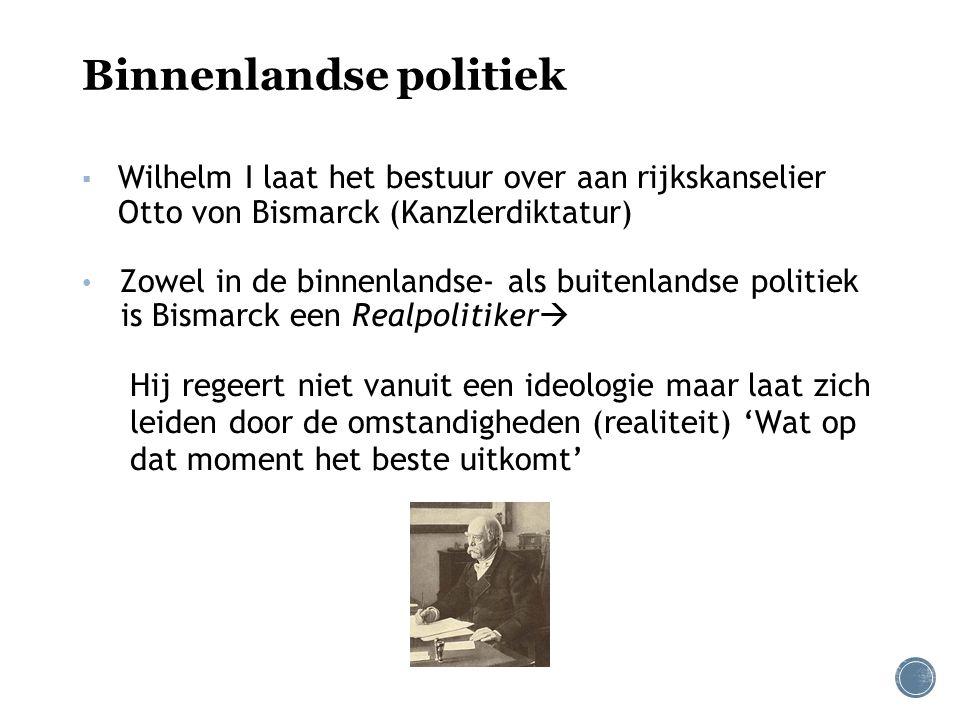 Binnenlandse politiek