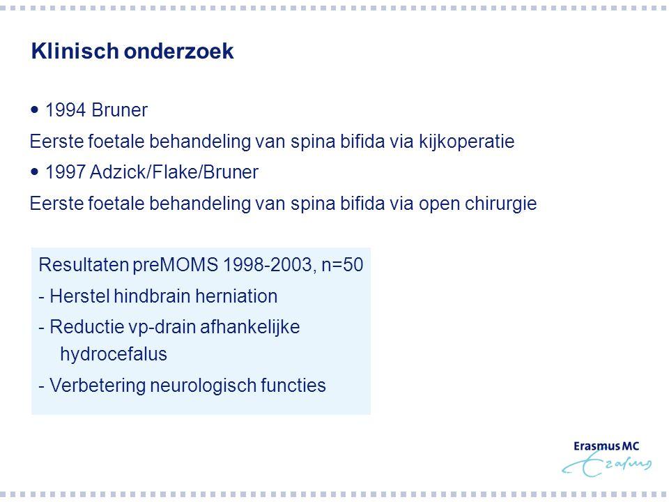 Klinisch onderzoek  1994 Bruner