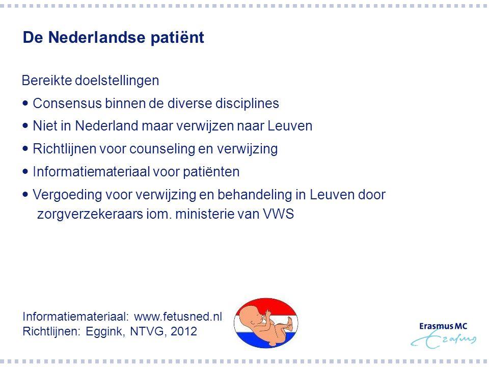 De Nederlandse patiënt