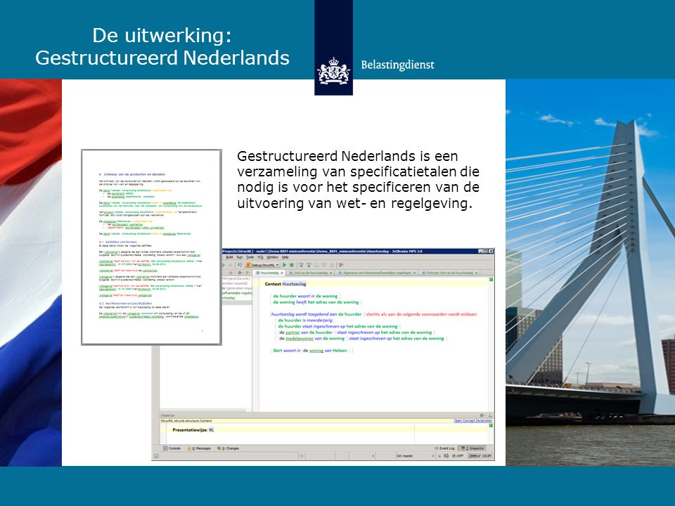De uitwerking: Gestructureerd Nederlands