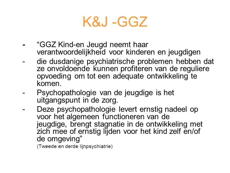 K&J -GGZ - GGZ Kind-en Jeugd neemt haar verantwoordelijkheid voor kinderen en jeugdigen.