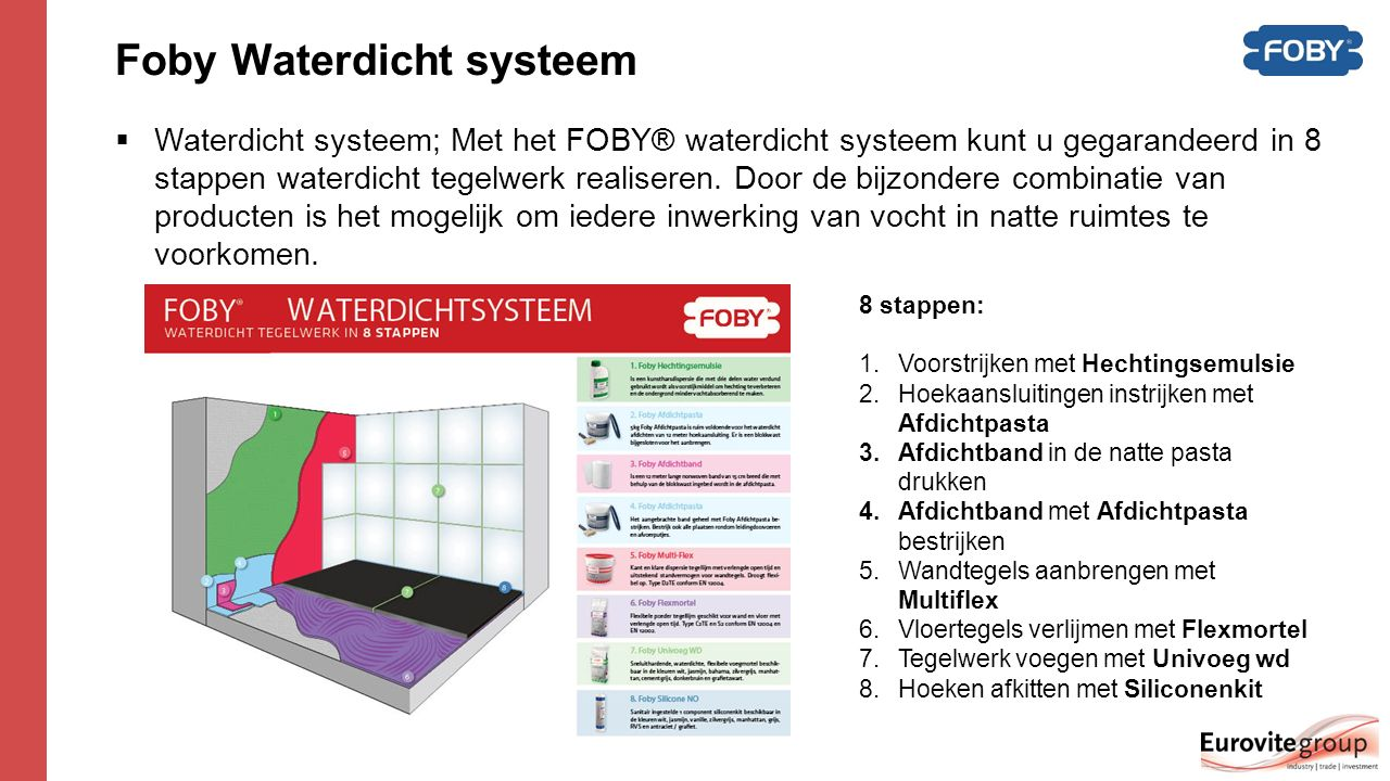 Foby Waterdicht systeem