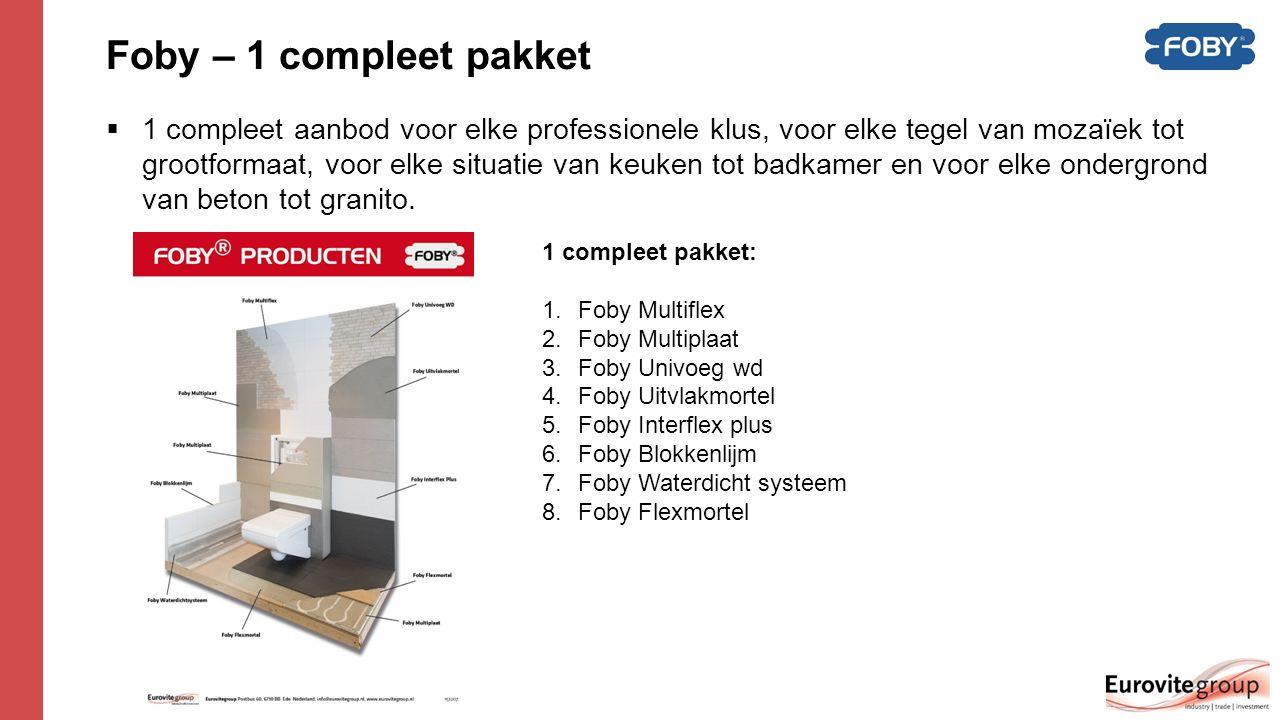 Foby – 1 compleet pakket