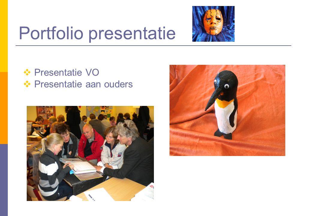 Portfolio presentatie