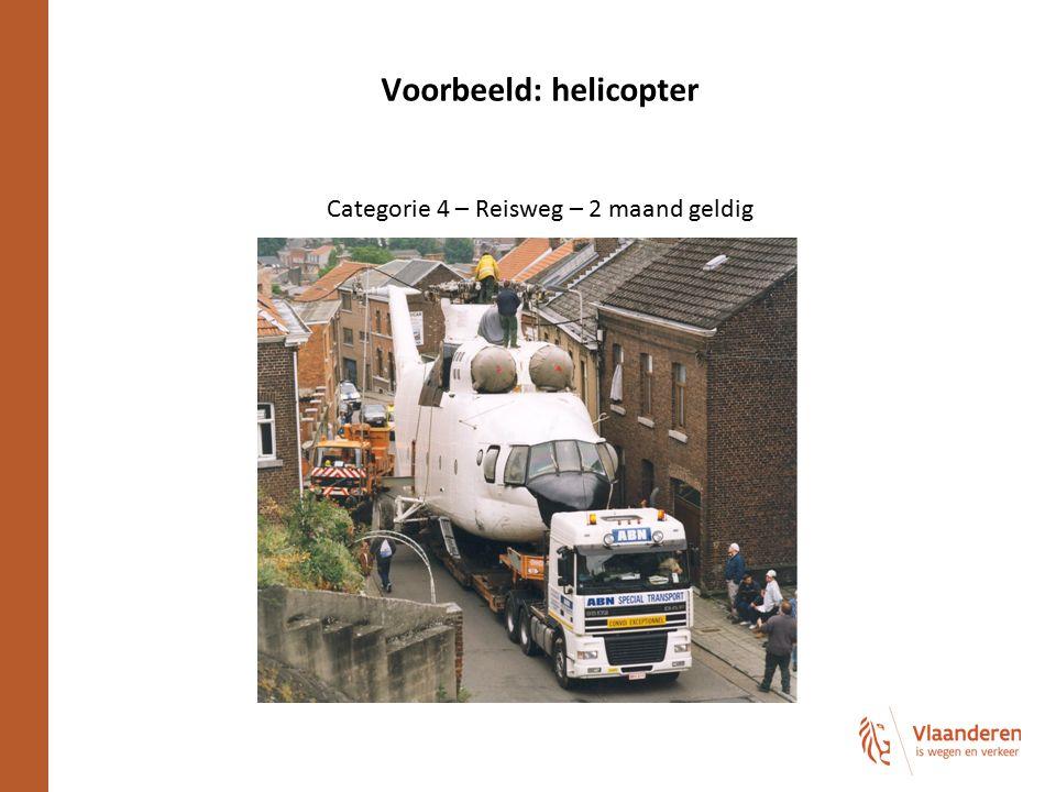 Voorbeeld: helicopter