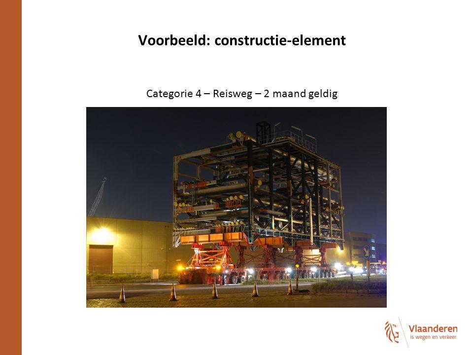 Voorbeeld: constructie-element