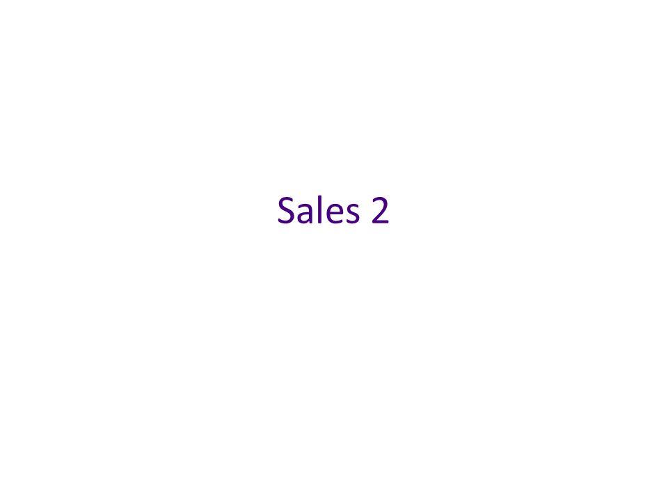 Sales 2
