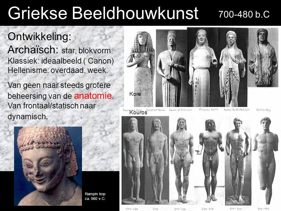 Griekse Beeldhouwkunst