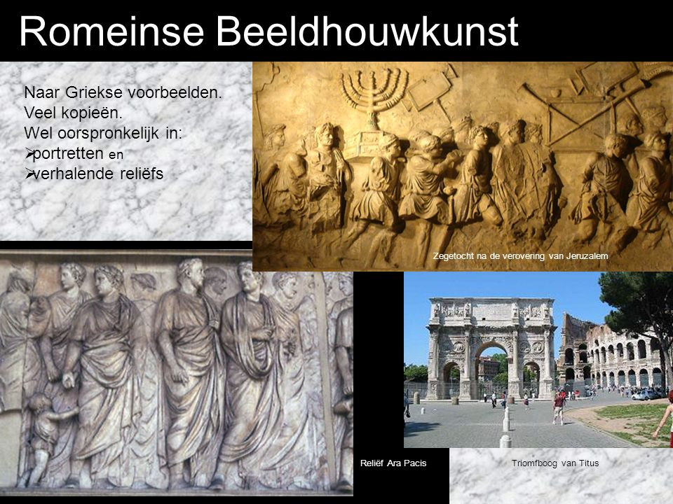 Romeinse Beeldhouwkunst