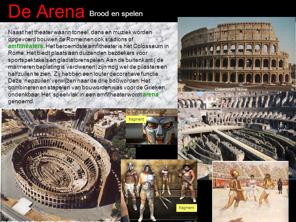 De Arena Brood en spelen