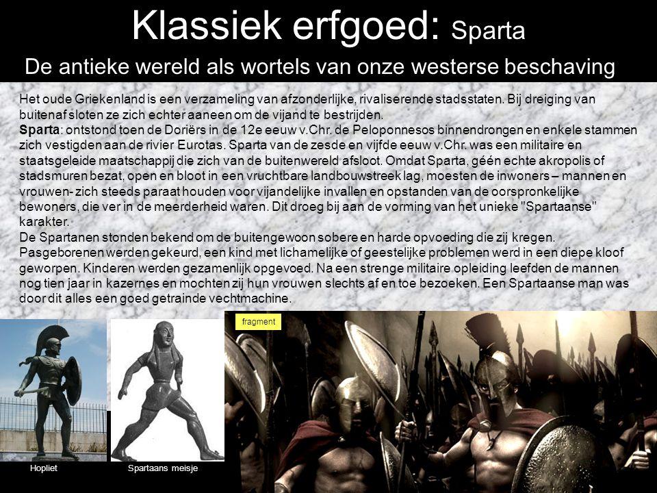 Klassiek erfgoed: Sparta