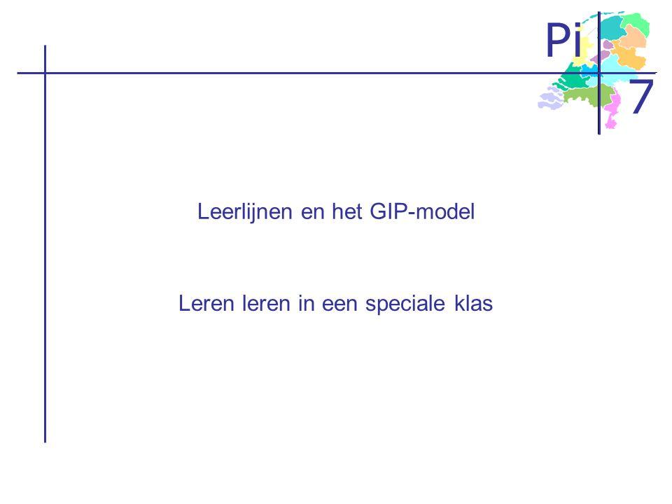 Leerlijnen en het GIP-model