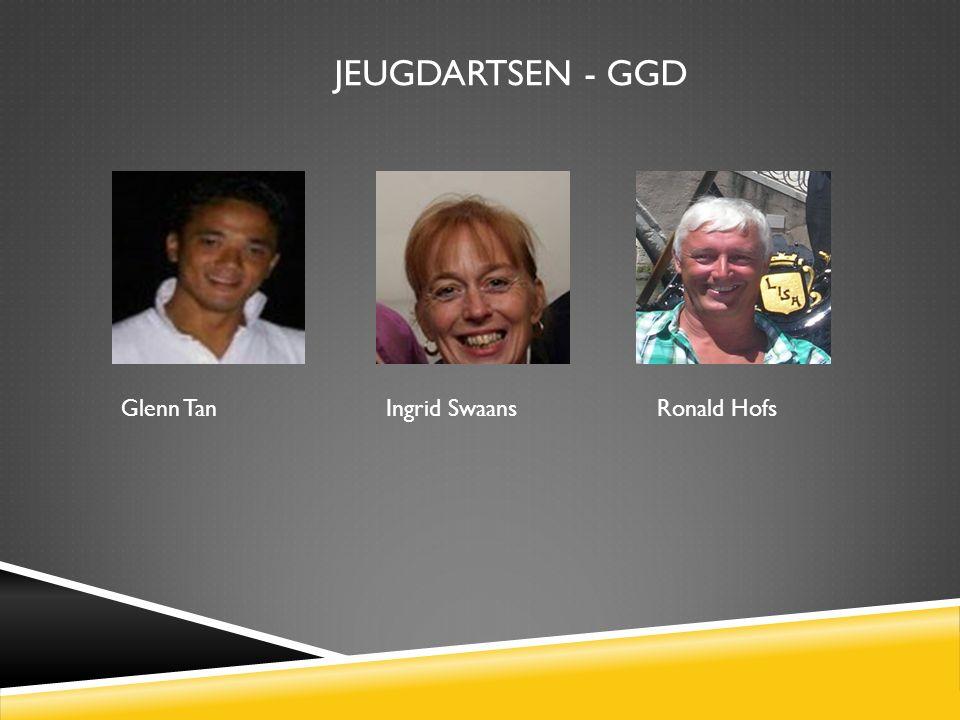JEUGDARTSEN - GGD Glenn Tan Ingrid Swaans Ronald Hofs