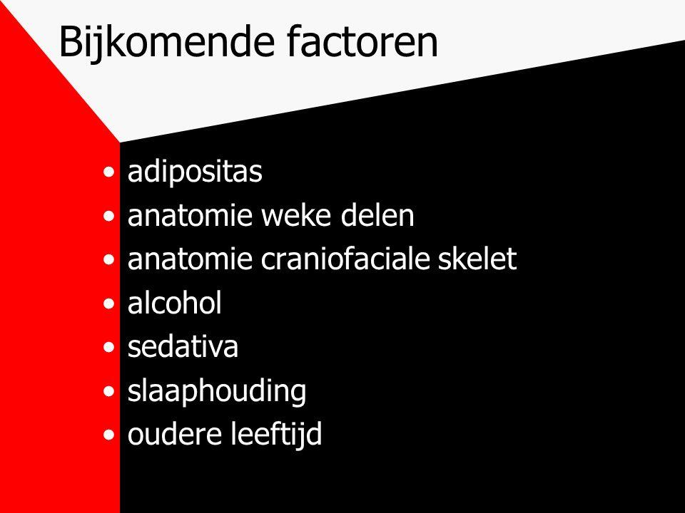 Bijkomende factoren adipositas anatomie weke delen
