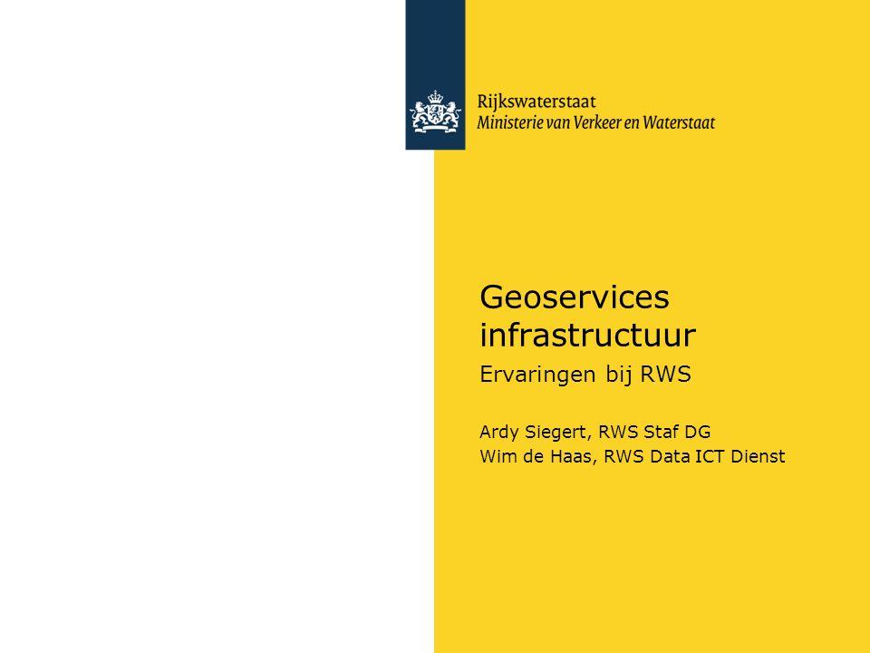 Geoservices infrastructuur