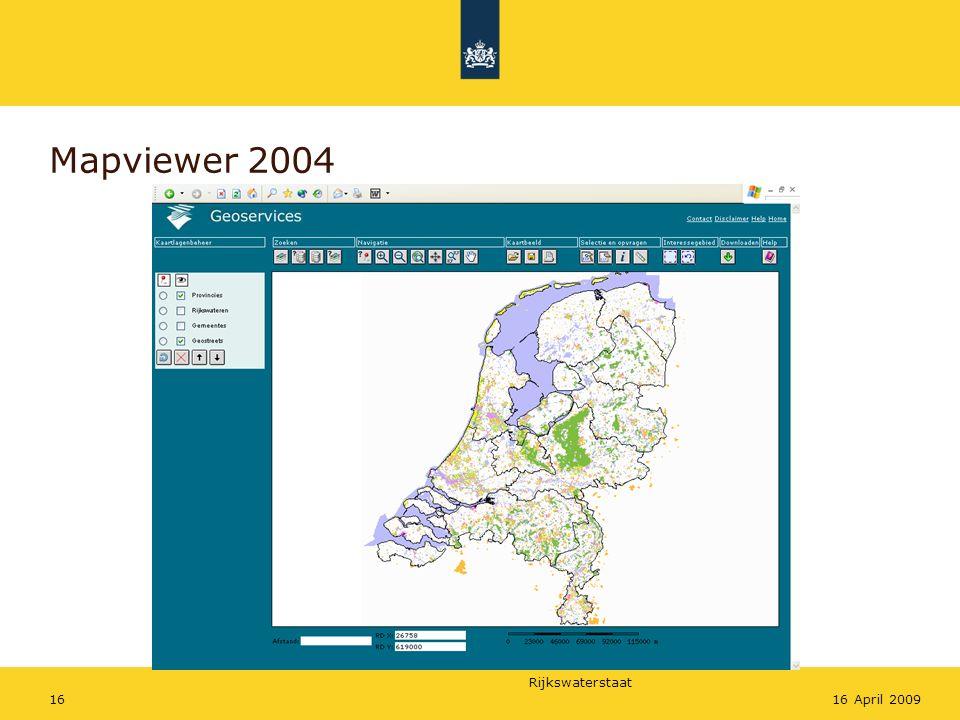 Mapviewer 2004 16 April 2009