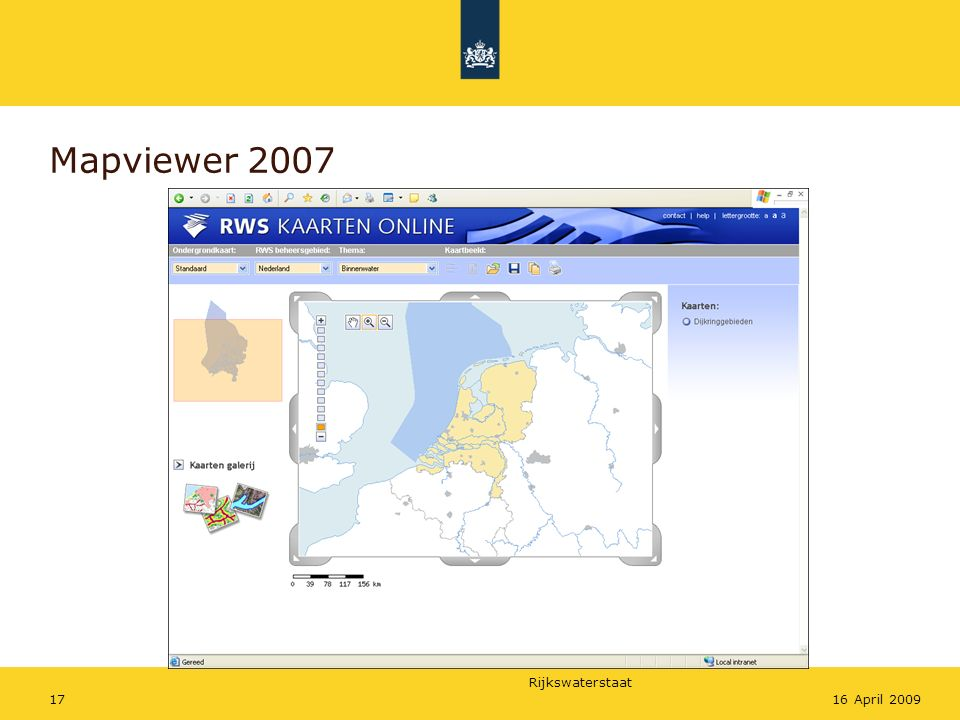 Mapviewer 2007 16 April 2009