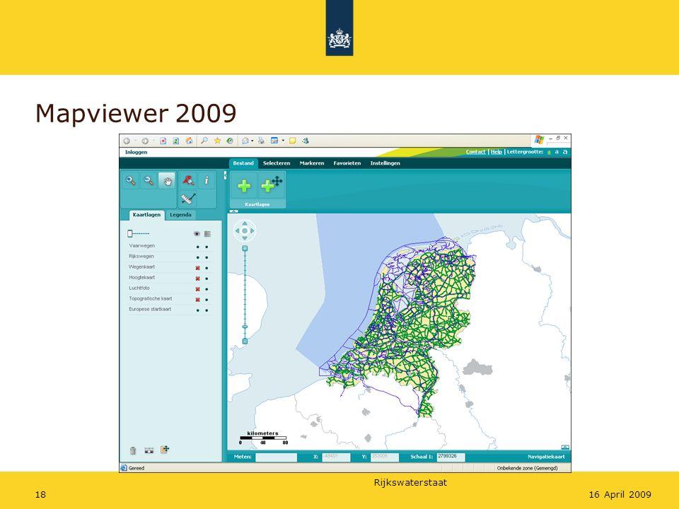 Mapviewer 2009 16 April 2009