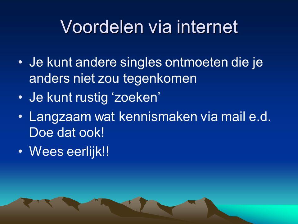 Voordelen via internet