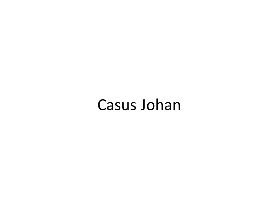 Casus Johan