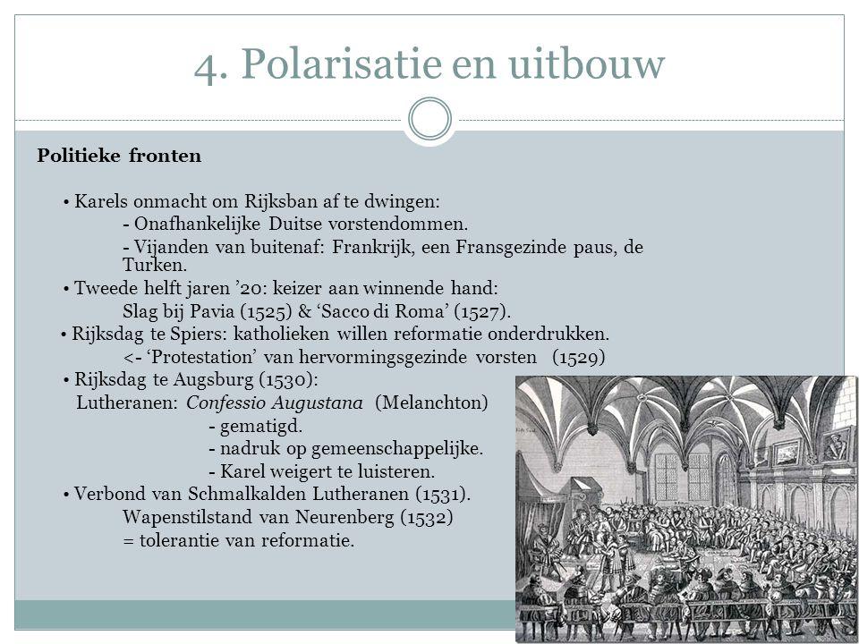 4. Polarisatie en uitbouw