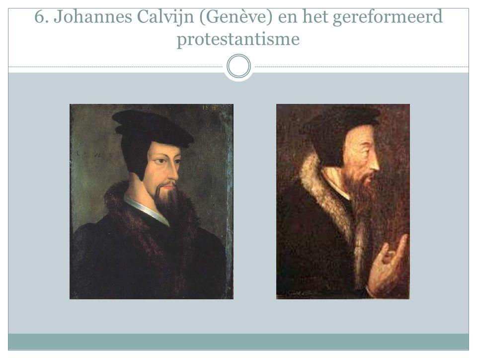 6. Johannes Calvijn (Genève) en het gereformeerd protestantisme