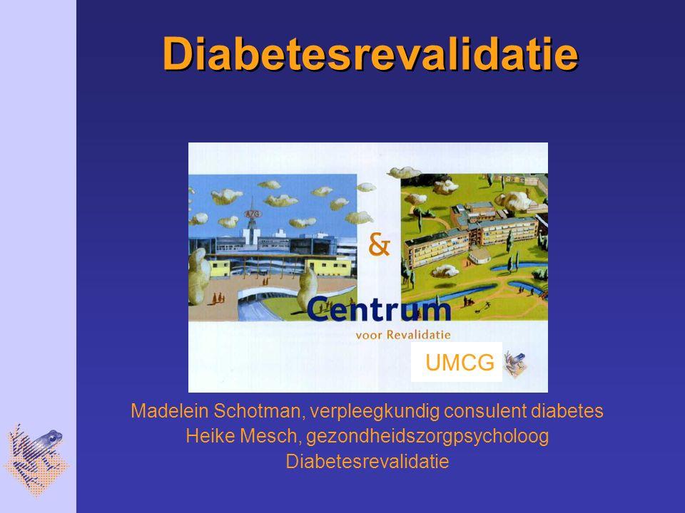 Diabetesrevalidatie UMCG