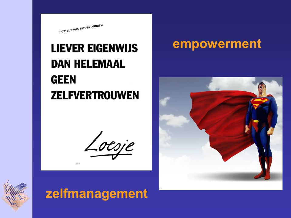 empowerment zelfmanagement
