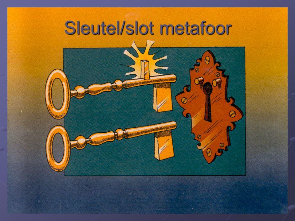 Sleutel/slot metafoor