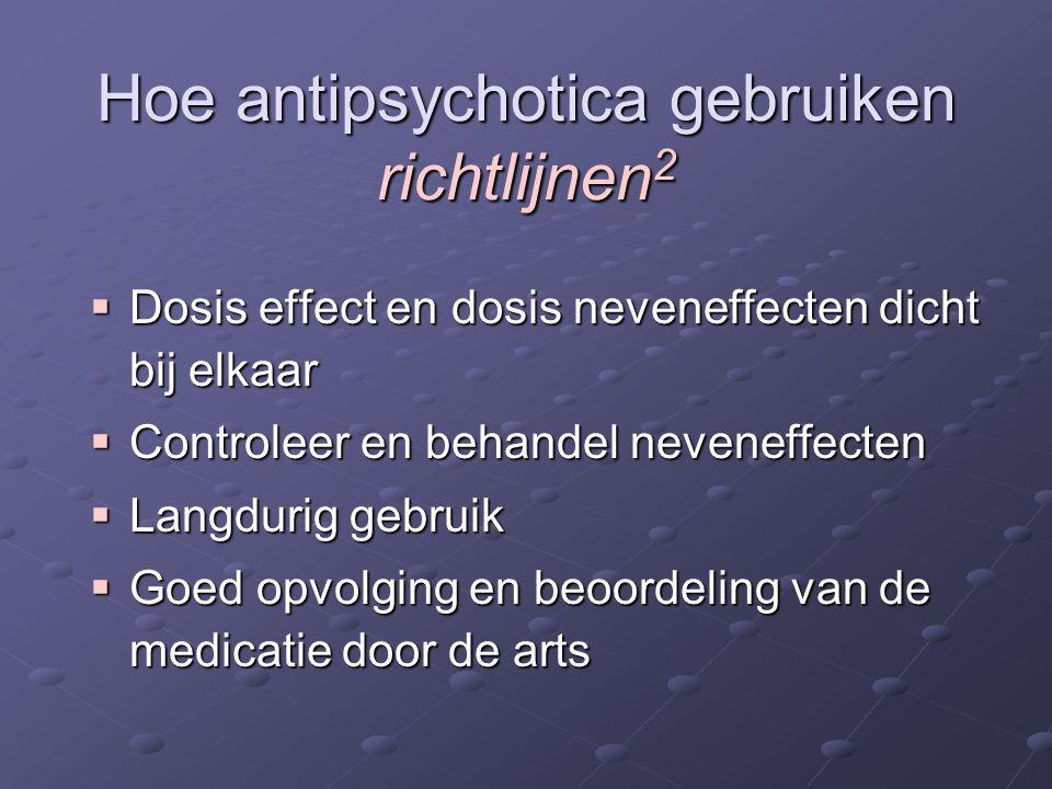 Hoe antipsychotica gebruiken richtlijnen2