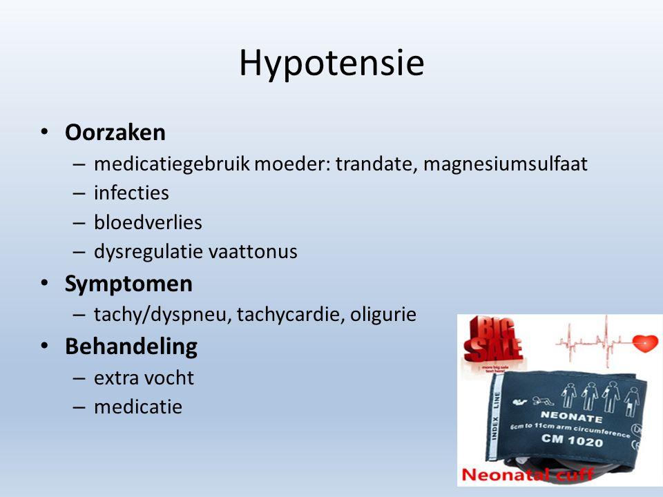 Hypotensie Oorzaken Symptomen Behandeling