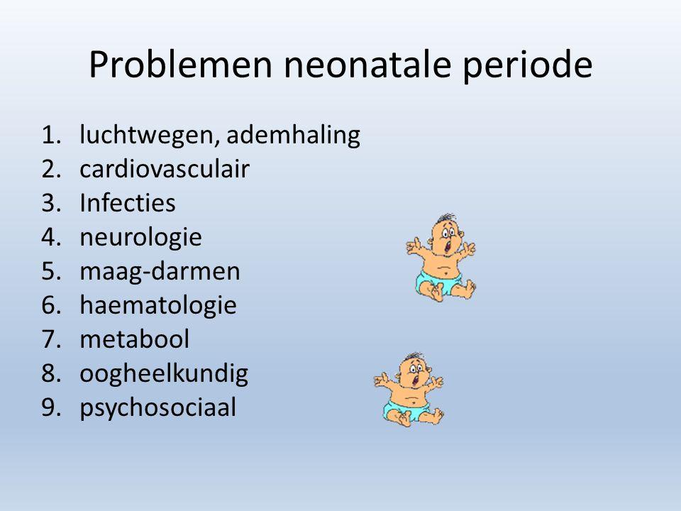 Problemen neonatale periode