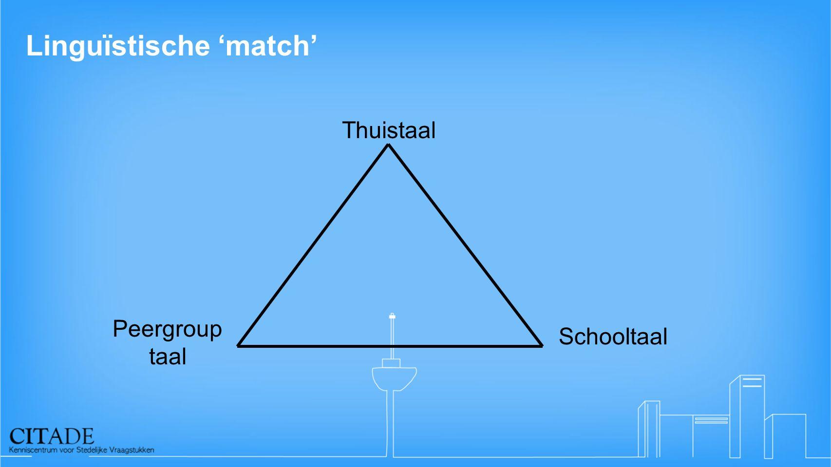 Linguïstische 'match'