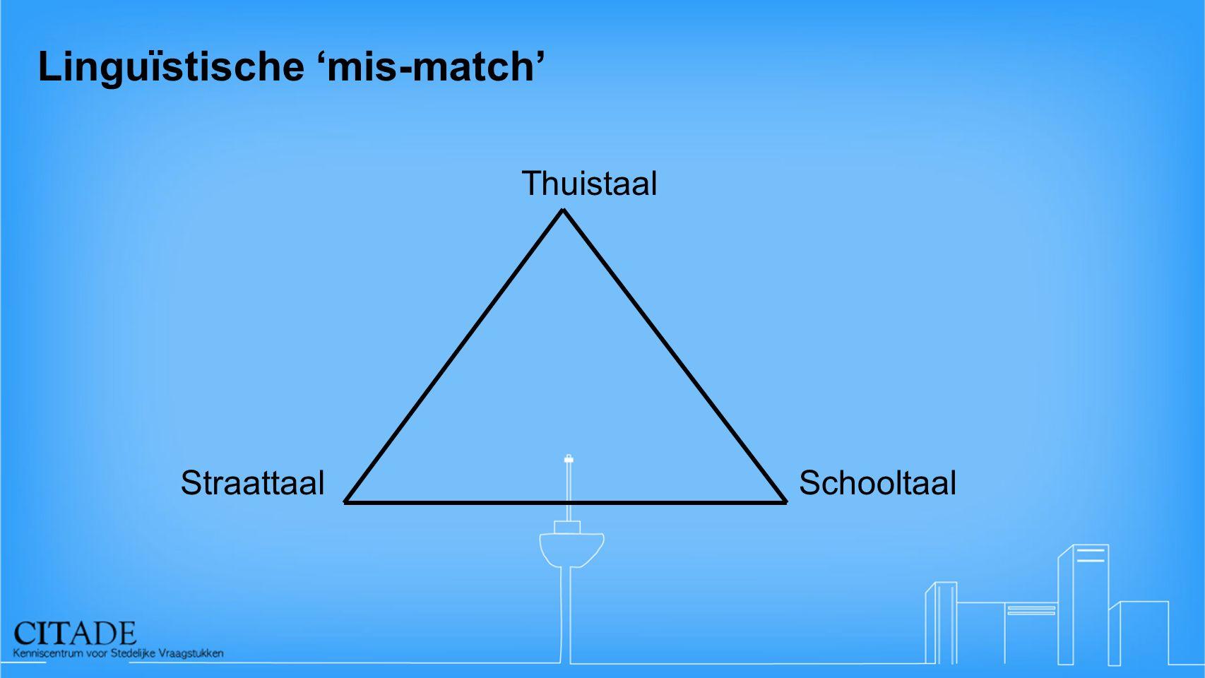 Linguïstische 'mis-match'