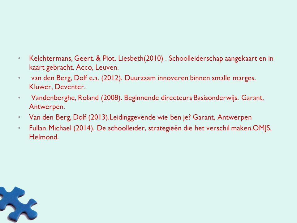 Kelchtermans, Geert. & Piot, Liesbeth(2010)