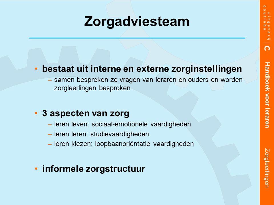 Zorgadviesteam bestaat uit interne en externe zorginstellingen