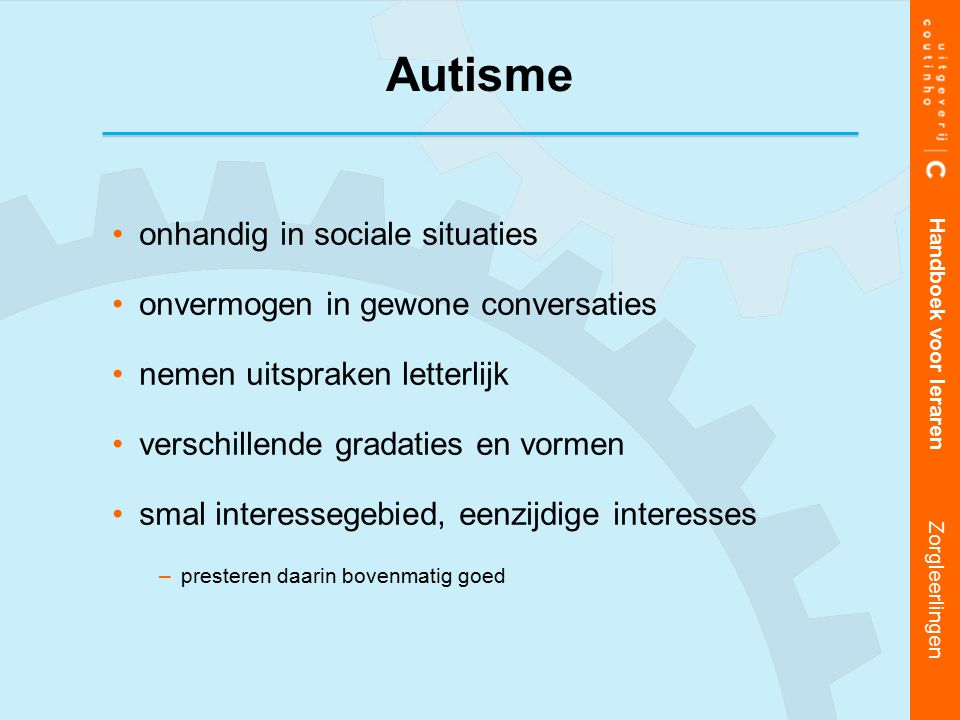 Autisme onhandig in sociale situaties